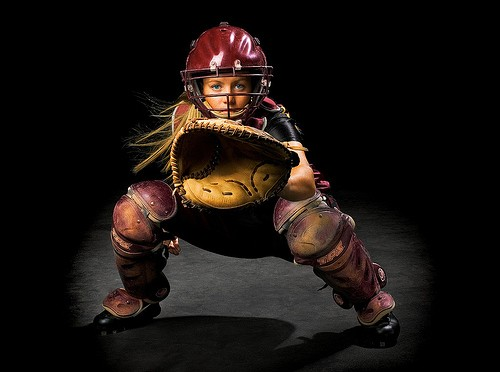 How to protect catchers knees from injury