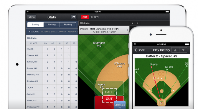 Softball App - GameChanger